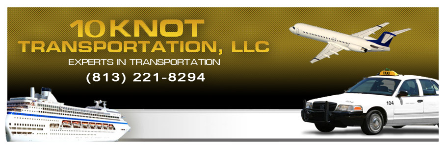 10 Knot Transportation of Tampa are experts in transportation